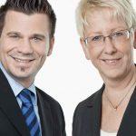 FDP-Fraktionsvorsitzender Volker Beisel und Stadträtin Dr. Birgit Reinemund MdB