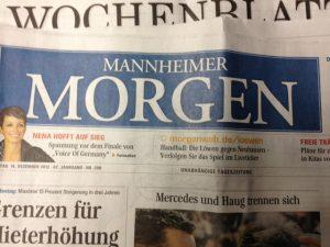 Der Mannheimer Morgen berichtet über die Arbeit der FDP-Fraktion