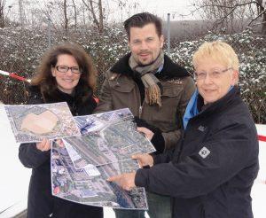 Die FDP-Stadträte Birgit Sandner-Schmitt, Volker Beisel und Dr. Birgit Reinemund MdB schlagen zwei Verkehrsalternativen zur Prüfung vor