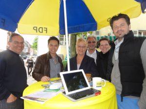 Viel Unterstützung zur Bürgersprechstunden von Dr. Birgit Reinemund (MdB)