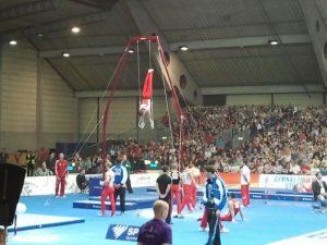 Sportliche Topbedingungen gab es beim Turnfest, aber was wird aus den Sportstätten im Pfeifferswörth?
