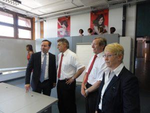 Bildungszentrum Besuch Meinhardt Reinemund
