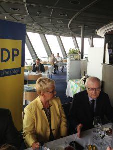 Rainer Brüderle zu Gast bei Dr. Birgit Reinemund in Mannheim
