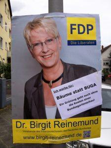 NEIN zur BUGA sagt die FDP