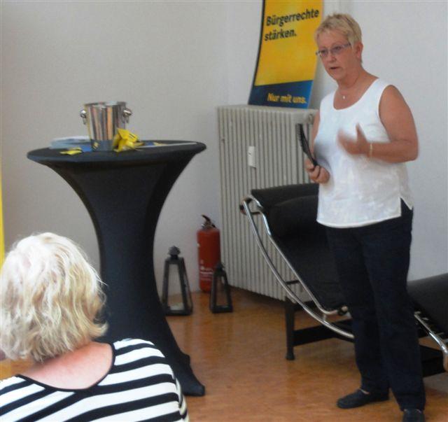 Die Mannheimer FDP-Bundestagsabgeordnete betont die Erfolge der Bundesregierung