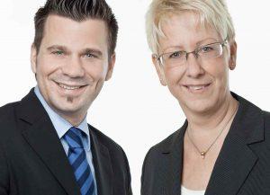 Stadtrat Volker Beisel und Stadträtin Dr. Birgit Reinemund
