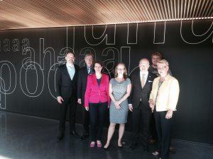 Florian Kußmann, Jörg Diehl, Birgit Sandner-Schmitt, Julia Klein, Michael Theurer, David Hergesell und Dr. Birgit Reinemund