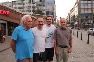 Otto Scharbau, Florian Kußmann, Tom Sauer, Dr. Bertram Krumm