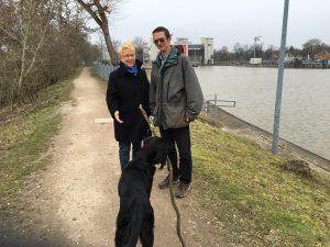 DP Stadträtin Dr. Birgit Reinemund und Gunther Mair (NaBu)