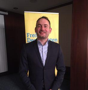 Florian Kußmann geht für die FDP ins Rennen