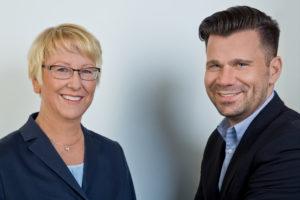 Stadträtin Dr. Birgit Reinemund und Stadtrat Volker Beisel