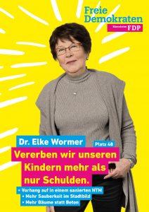 48. Dr. Elke Wormer, 72, vom Waldhof, Rechtsanwältin