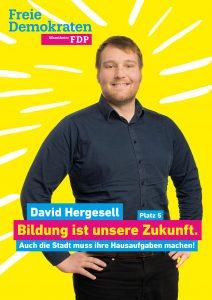 5. David Hergesell, 27, aus Neckarau, Bildungswissenschaftler