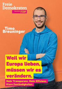 Unser Europakandidat Timo Breuninger, 23