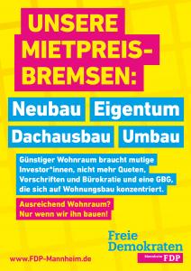Unsere Mietpreisbremsen: Neubau, Eigentum, Dachausbau, Umbau