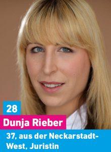 28. Dunja Rieber, 37, aus der Neckarstadt-West, Juristin