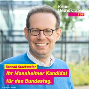 Konrad Stockmeier - Bundestagskandidat 2021