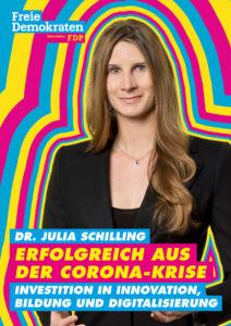 Dr. Julia Schilling – Kandidatin zur Landtagswahl 2021 für Mannheim-Nord (Wahlkreis 35)