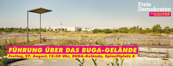 FDP Mannheim Führung über das BUGA-Gelände 27.08.2021