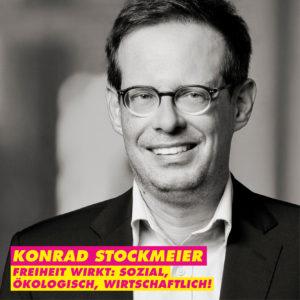 Konrad Stockmeier – Bundestagskandidat für Mannheim 2021